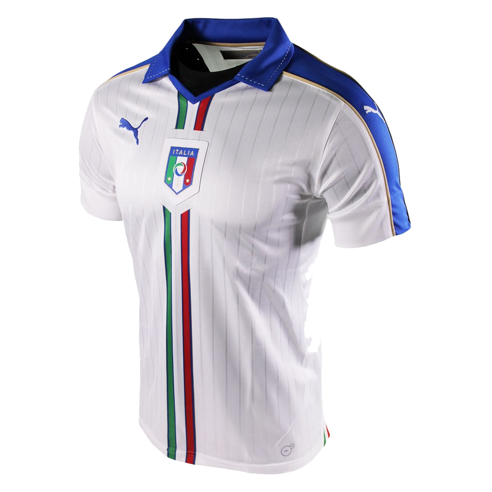 Maillot italie ext rieur euro 2016 puma styl 39 foot for Maillot exterieur