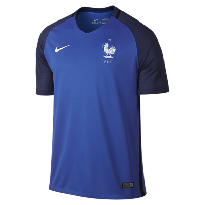 Football shirt kid France home EURO 2016 NIKE