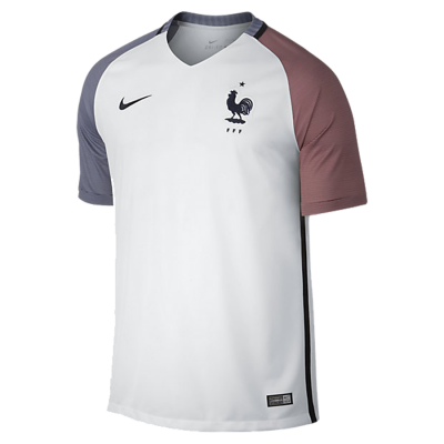 Football shirt kid France away EURO 2016 NIKE
