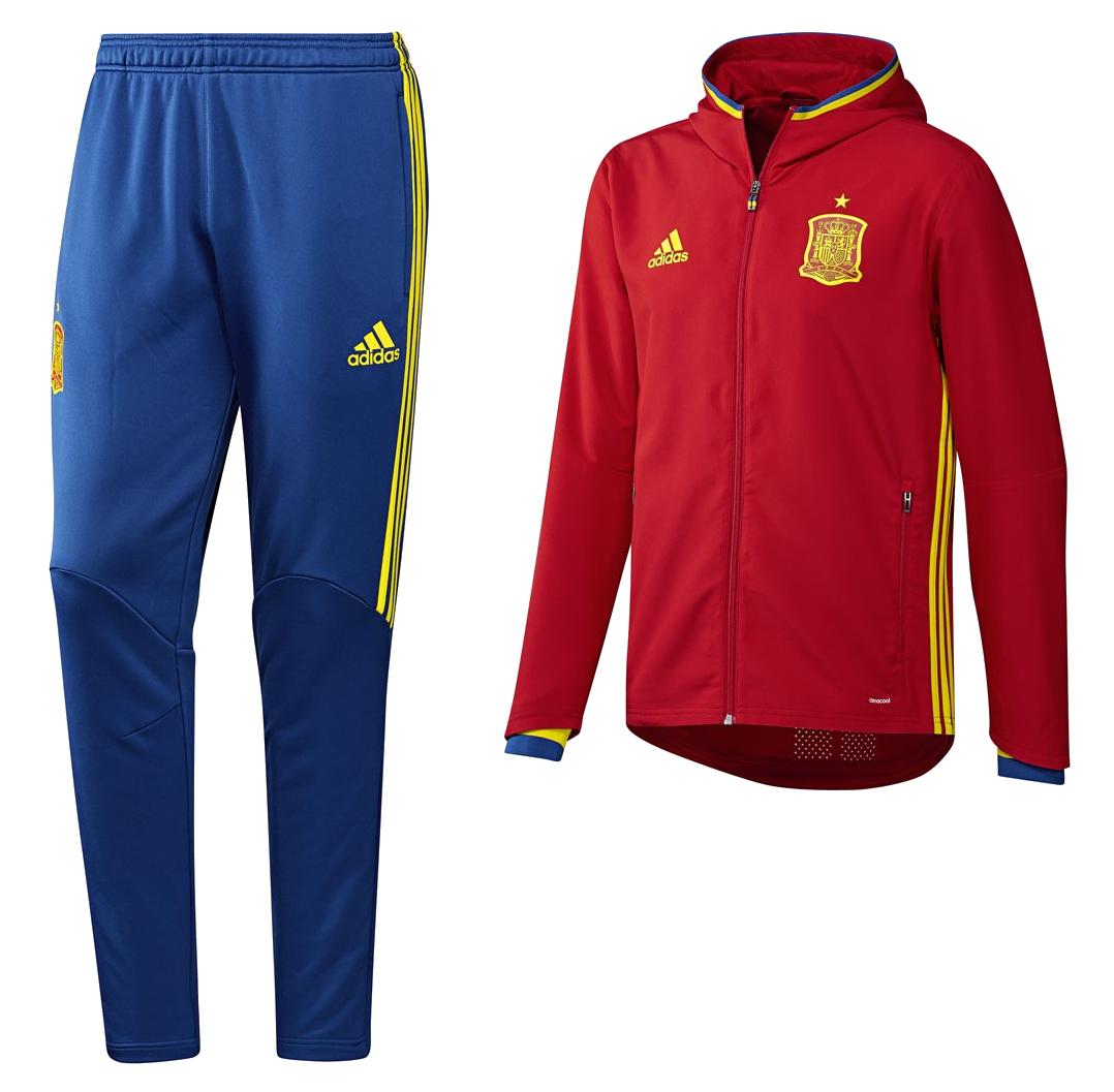 f64b4f9c638 ... survetement espagne adidas euro gentil . maillot de football adidas  performance espagne euro uefa 2016 training ...