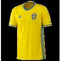 Shirt Sweden home EURO 2016 ADIDAS