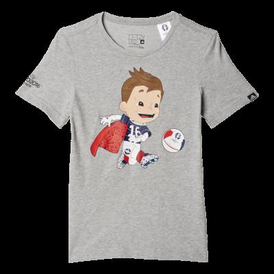 Tee shirt EURO 2016 mascotte ADIDAS