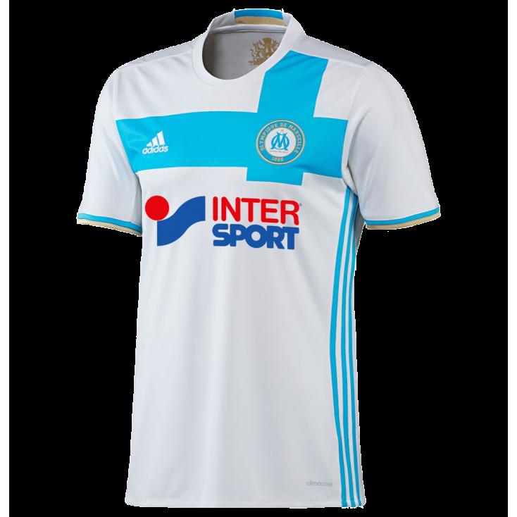 Shirt Marseille home 2016-17 ADIDAS