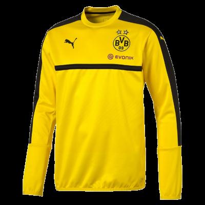 Sweat Borussia Dortmund Puma jaune