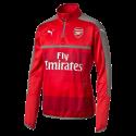 Training top Arsenal Puma rojo nino