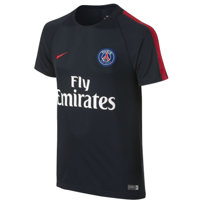 Maillot entrainement PSG bleu Nike