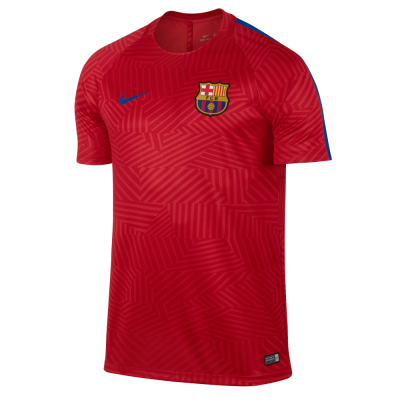 Maillot entrainement FC Barcelone Squad 2016-17 NIKE