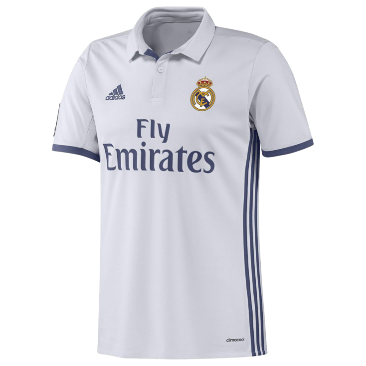Shirt Real Madrid home 2016-17 ADIDAS