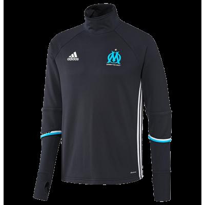 Training top OM Adidas 2016-17 noir