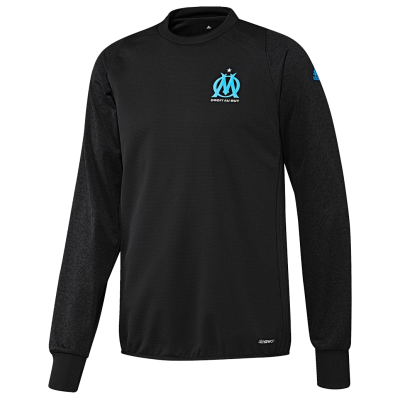 Training top OM UCL Adidas 2016-17 noir