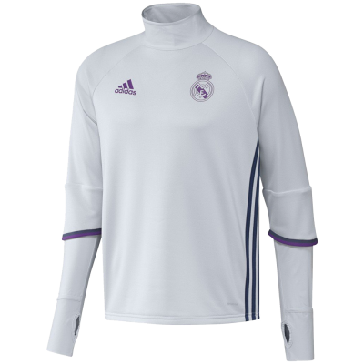 Training top Real Madrid Adidas 2016-17 blanc