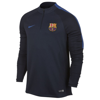 Training top FC Barcelona Nike blue navy