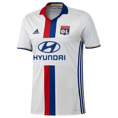 Shirt Lyon home 2016-17 ADIDAS kid