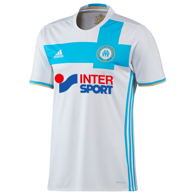 Maillot OM domicile 2016-17 ADIDAS junior