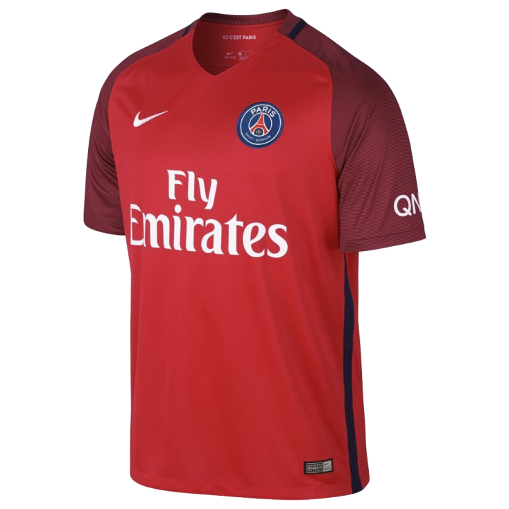 Maillot psg ext rieur 2016 17 nike junior styl 39 foot for Maillot exterieur psg 2016