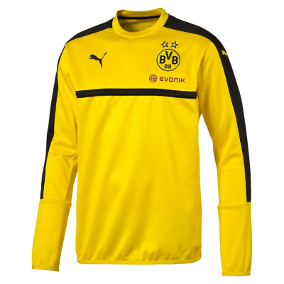 Sweat Borussia Dortmund Puma jaune junior