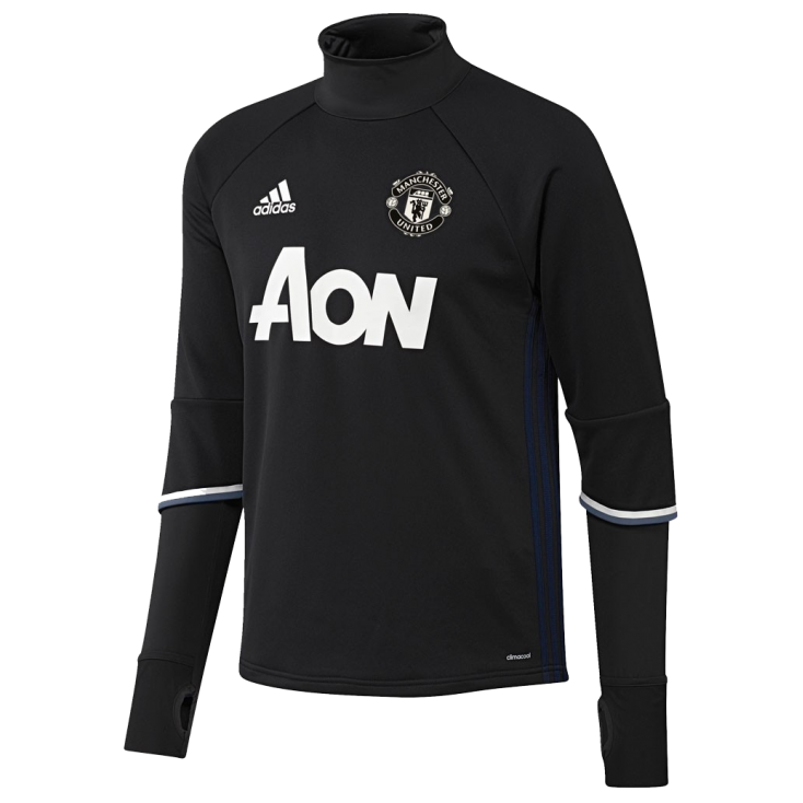 Training top Manchester United Adidas 2016-17 negro