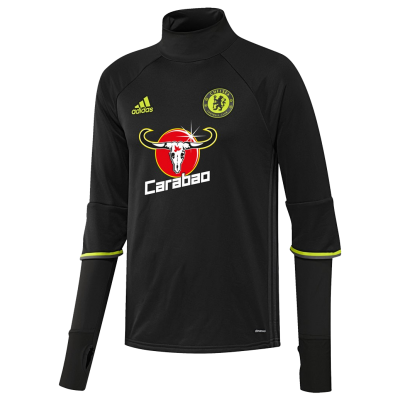 Training top Chelsea Adidas 2016-17 noir