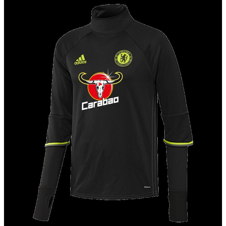 Training top Chelsea Adidas 2016-17 noir