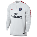 Training top PSG white Nike kid