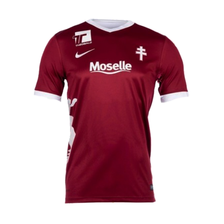 Maillot FC Metz domicile 2016-17 Nike