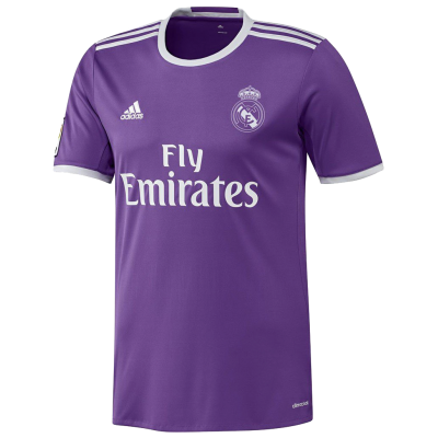 Shirt Real Madrid away 2016-17 ADIDAS kid