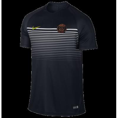 Maillot entrainement PSG noir Nike junior
