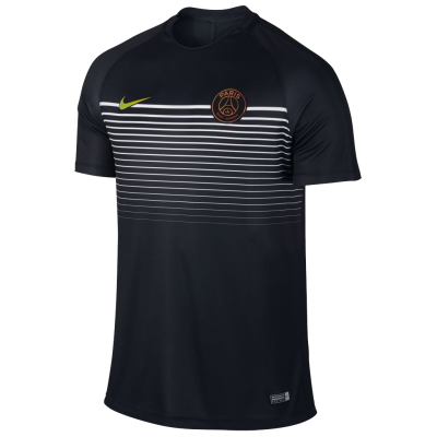Training top PSG black Nike kid