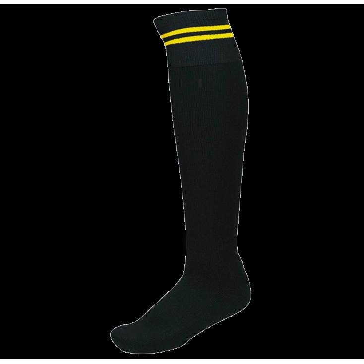 Calcetines PRO10 negro/amarillo