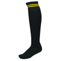 Socks PRO10 black/yellow