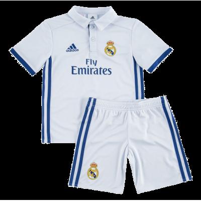Mini kit Real Madrid domicile 2016-17 Adidas