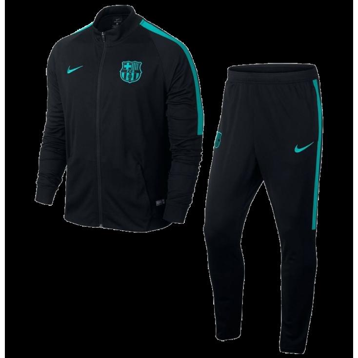 Tracksuit FC Barcelona NIKE 2016-17 black