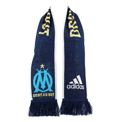 Official scarf Marseille Adidas blue night