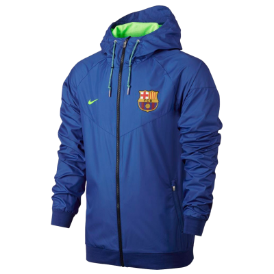 Jacket FC Barcelona Authentic Windrunner Nike blue