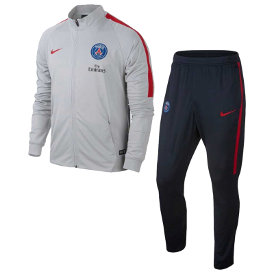 Survêtement PSG slim gris 2016-17 NIKE junior