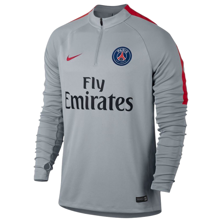Training top PSG grey Nike kid