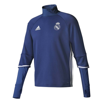 Training top Real Madrid Adidas 2016-17 bleu junior
