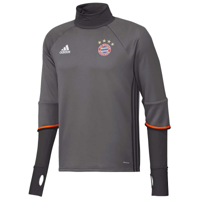 Training top Bayern Munich Adidas 2016-17 gris
