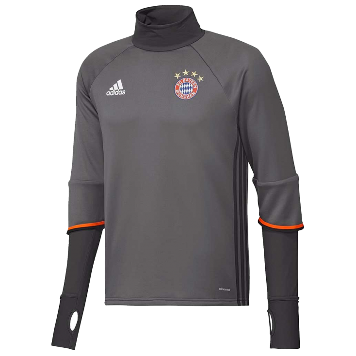 Training top Bayern Munich Adidas 2016-17 grey