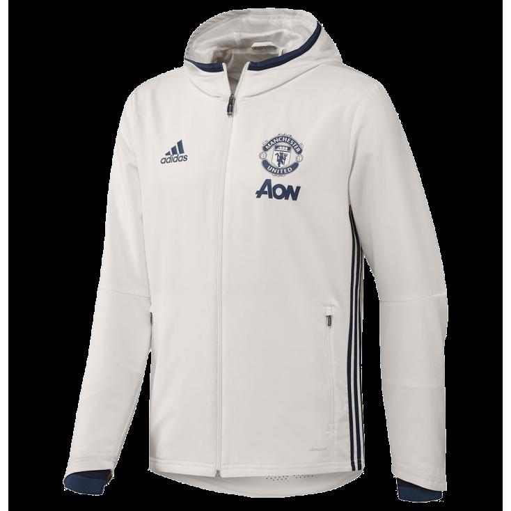 Jacket Manchester United 2016-17 Adidas white