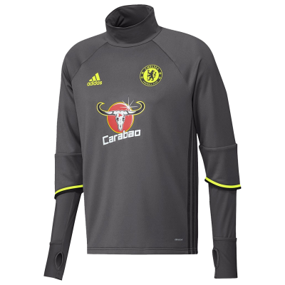 Training top Chelsea Adidas 2016-17 gris