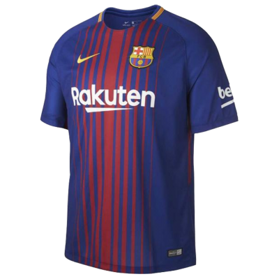 Maillot FC Barcelone domicile 2017-18 Nike junior