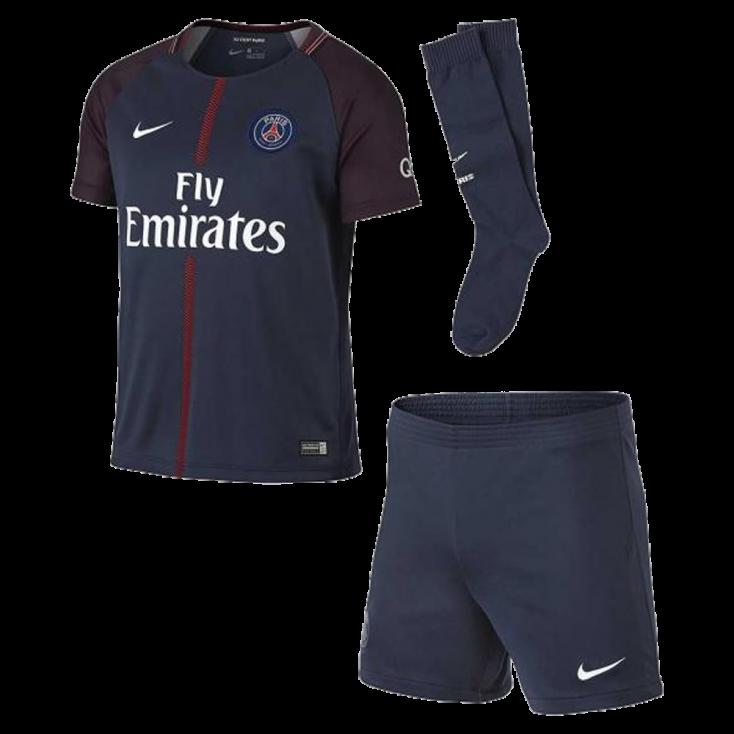Mini kit PSG domicilio 2017-18 NIKE