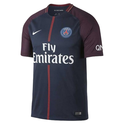 Camiseta PSG domicilio 2017-18 Nike niño