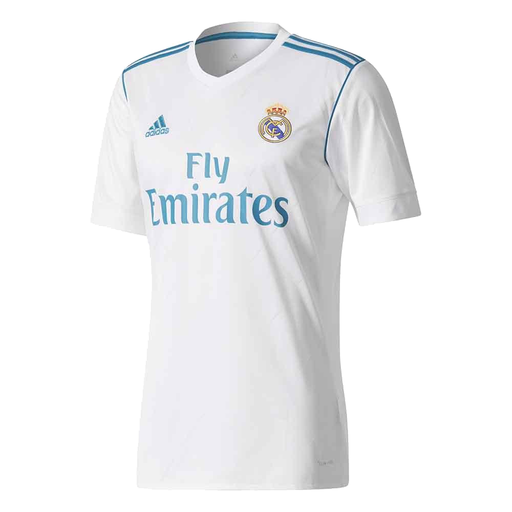 Shirt Real Madrid home 2017-18 ADIDAS b42fb9329ac45