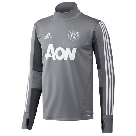 training top manchester united adidas 2017 18. Black Bedroom Furniture Sets. Home Design Ideas