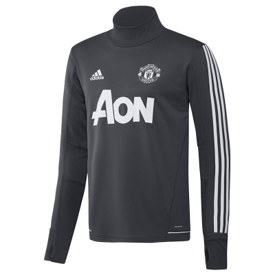 Training top Manchester United Adidas 2017-18 grey