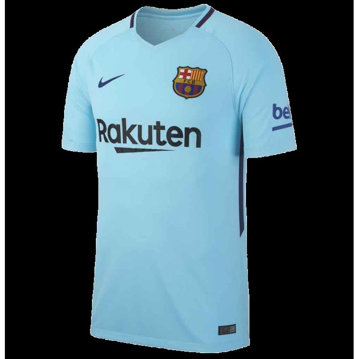Maillot FC Barcelone extérieur 2017-18 Nike