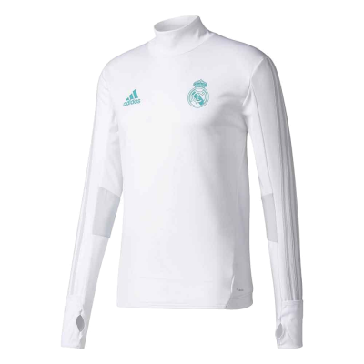 Training top Real Madrid Adidas 2017-18 blanco