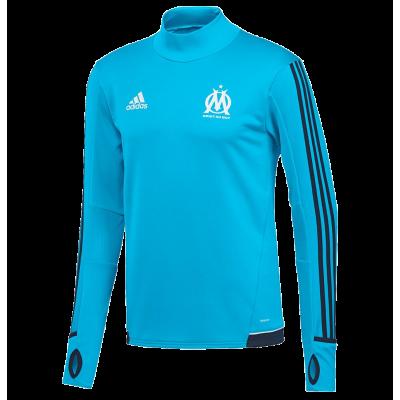 Training top Marseille Adidas 2017-18 blue